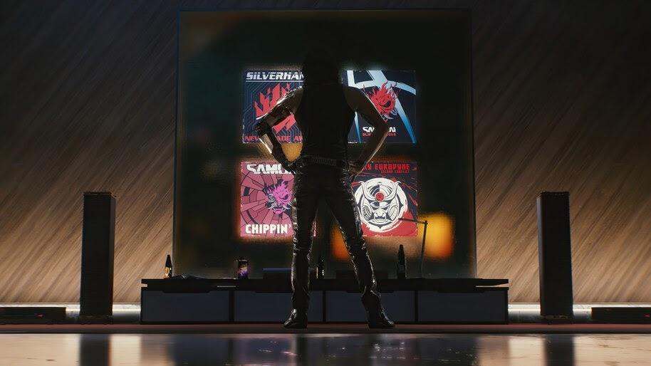 Cyberpunk 2077, Johnny Silverhand, Samurai, 4K, #7.2470