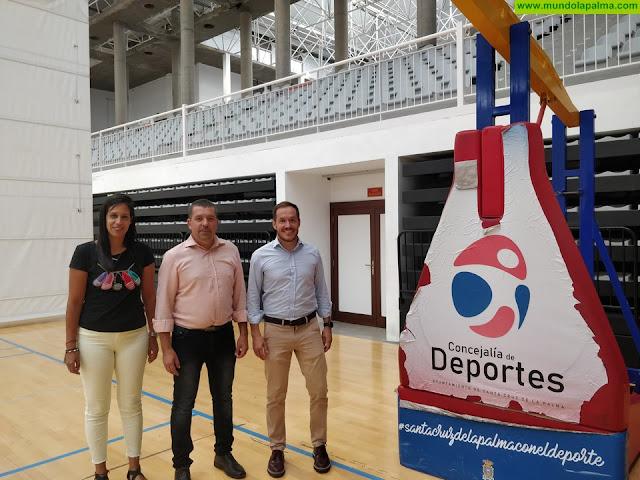 El Cabildo posibilita la puesta en servicio del pabellón multiusos de Santa Cruz de La Palma