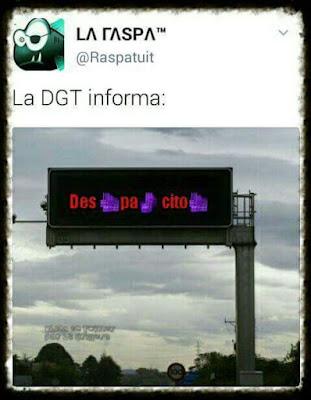 La DGT informa, despacito, despacio