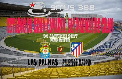 JUDI BOLA DAN CASINO ONLINE - PREDIKSI PERTANDINGAN COPA del REY LAS PALMAS VS ATLETICO MADRID 04 JANUARI 2017