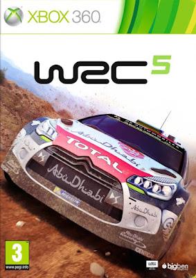 WRC FIA World Rally Championship five XBOX360 free download full version
