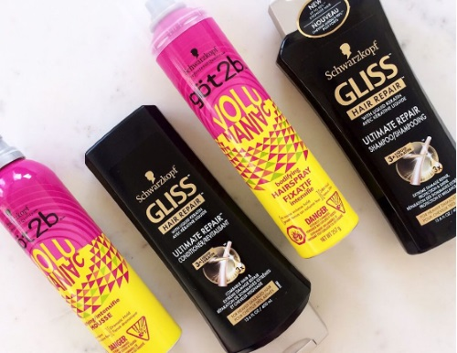 Chickadvisor Schwarzkopf Gliss & göt2b Hair Products