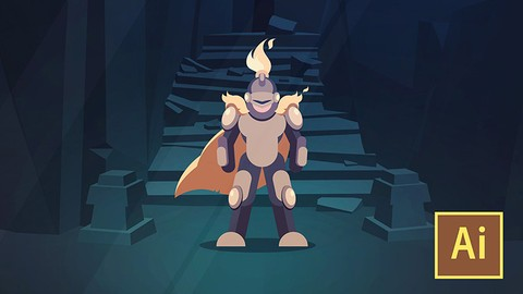 Learn Illustrator CC: Create a Vector Knight