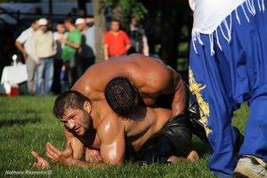 La lutte turque gay