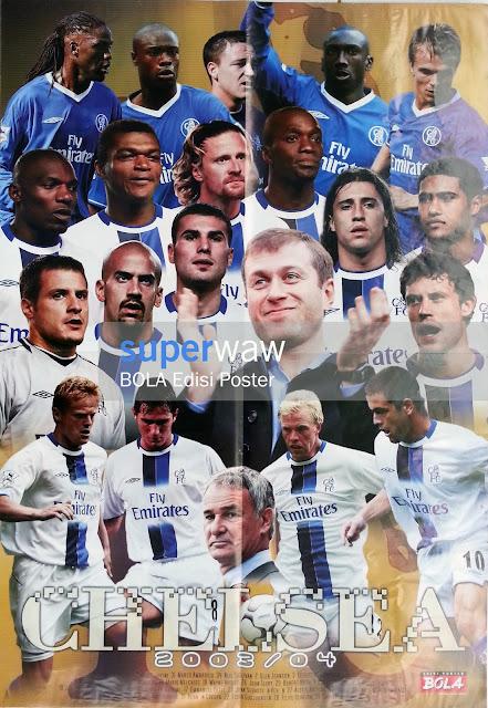 Skuad Chelsea 2003/04