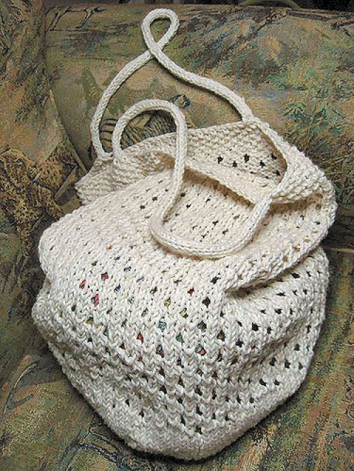 Fantasy Naturale Market Bag - Free Pattern