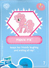 My Little Pony Wave 4 Pinkie Pie Blind Bag Card