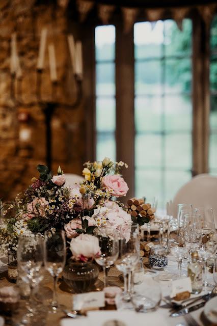 Fleuriste mariage Lyon, centre de table fleuri, décoration mariage