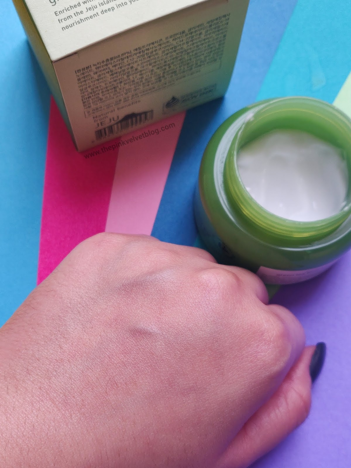 Innisfree Green Tea Balancing Cream EX Review