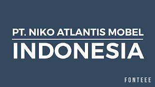 PT. NIKO ATLANTIS MOBEL INDONESIA