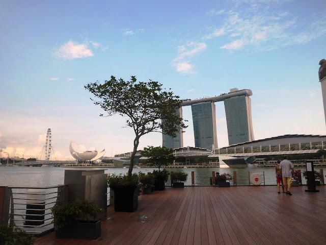 cara menuju Merlion Park Wisata Singapore
