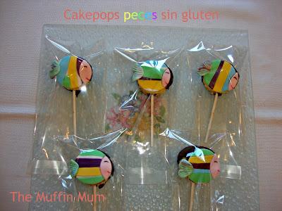 Cake pops sin gluten