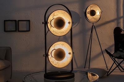 stolní lampy Reaction, moderní nábytek, stolní svítidla