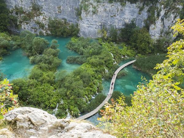 257. Jeziora Plitwickie - chorwacka atrakcja turystyczna