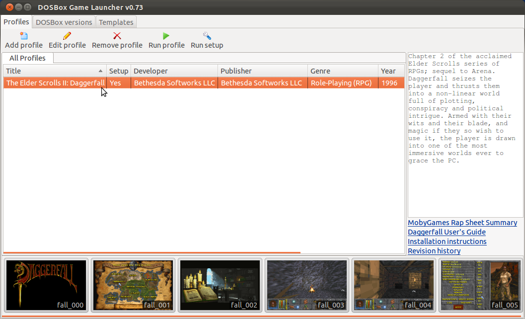 Easily Install Daggerfall, Doom and Many Classic Games on Linux
