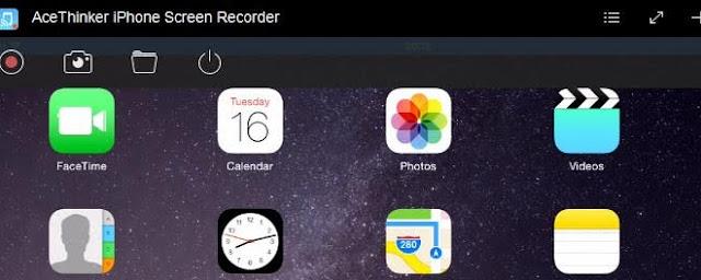 تطبيق Acethinker Screen Recorder iPhone لتسجيل فيديو لشاشة ايفون وايباد بسهولة
