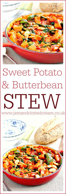 Smoky Sweet Potato and Butter Bean Stew
