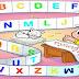Cartazes de parede - Alfabeto com a turma da mônica