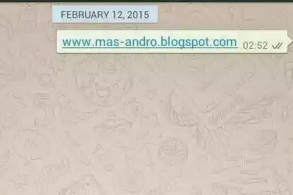 Tanda Centang Whatsapp terkirim ke penerima