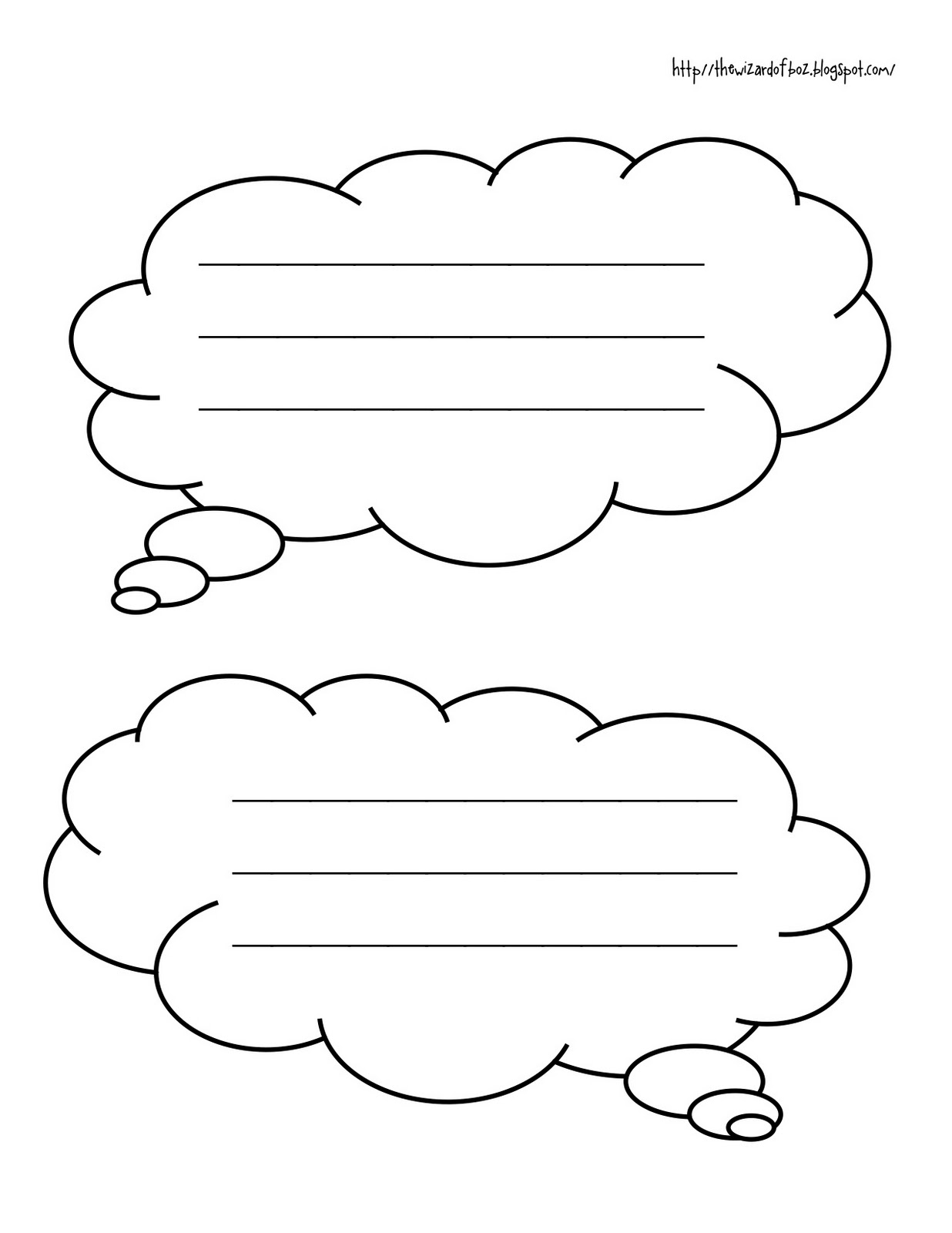 photo relating to Printable Thought Bubble named Idea Bubbles Template. memo message boards whiteboards speech
