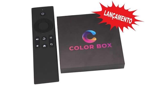Lançamento de uma nova TV BOX! Conheça a COLOR BOX!