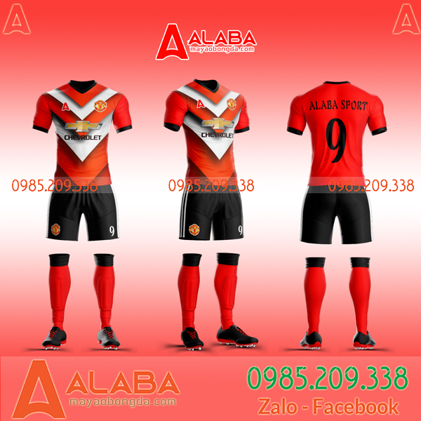 Áo MU 2020 sân nhà đỏ