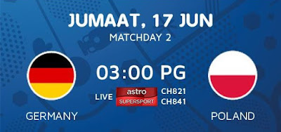 Live Streaming Keputusan Germany Vs Poland EURO 2016