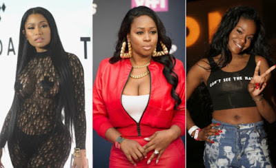 Image result for nicki minaj, azealia and remy