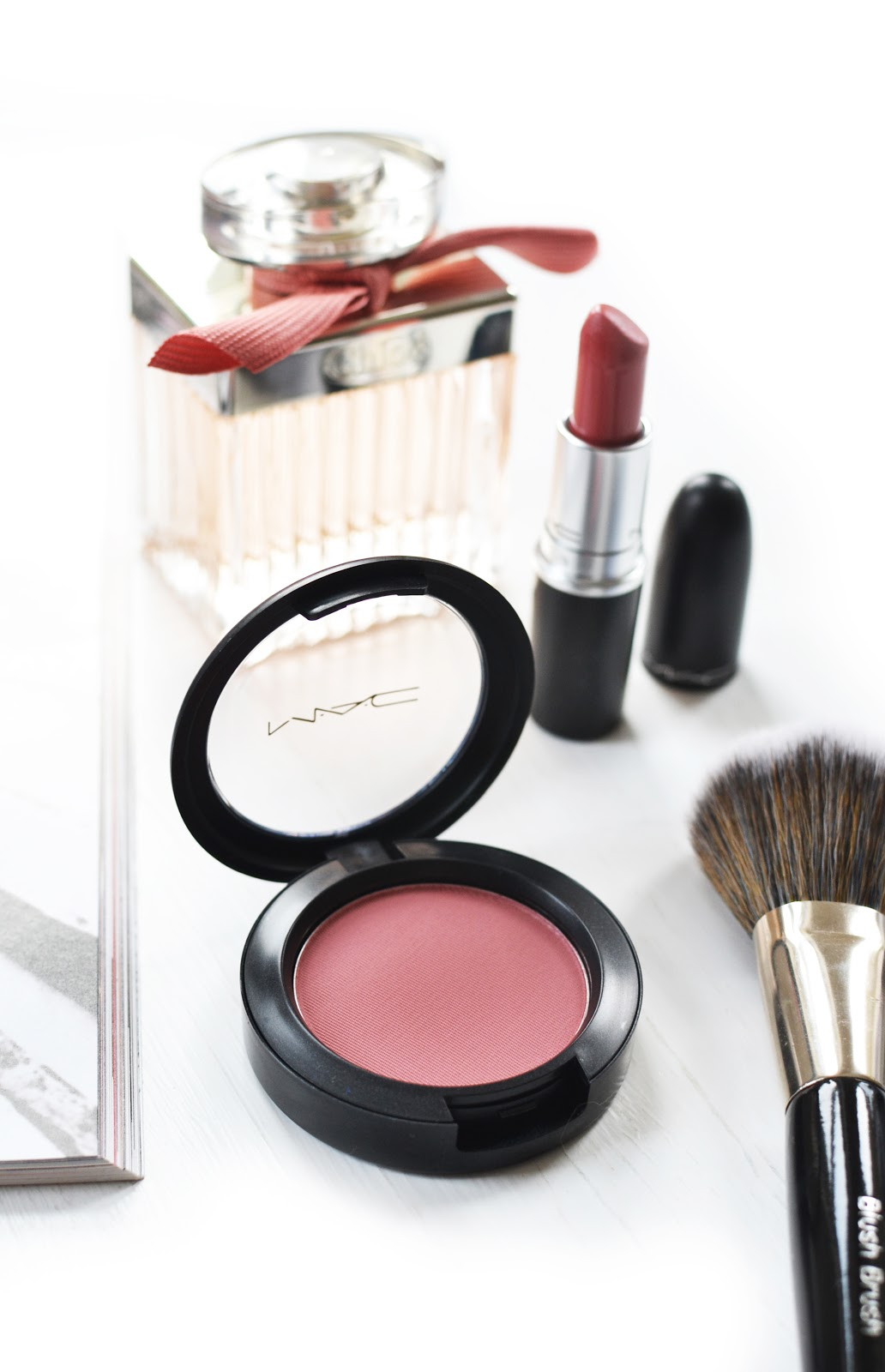 MAC Desert Rose Blush review