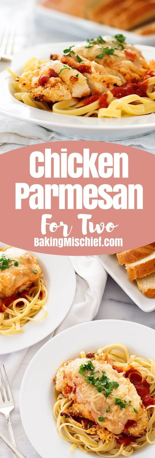 Baked Chicken Parmesan for Two Recipe
