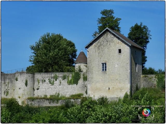 HARCHECHAMP (88) - Château du Châtelet (XIIe-XVIe siècle)