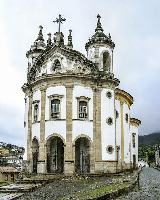 Top 5 igrejas para visitar em Ouro Preto - Igreja Nossa Senhora do Rosário