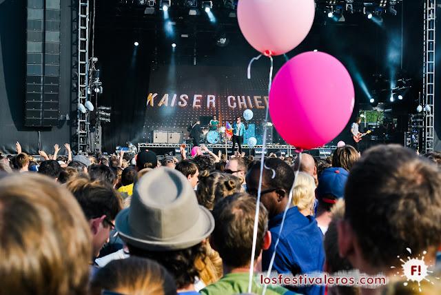Lollapalooza, Berlín, 2016, Festival, Música, Kaiser Chiefs