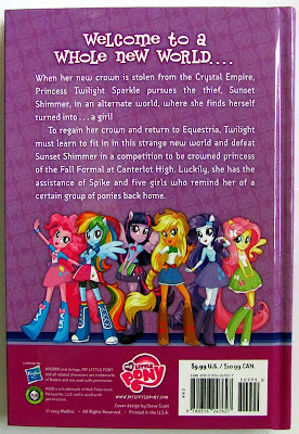 EqG: Through the Mirror, back cover