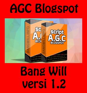 Download Update AGC Blogspot Bang Will v1.2