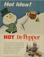 Hot Dr. Pepper ad holiday drink