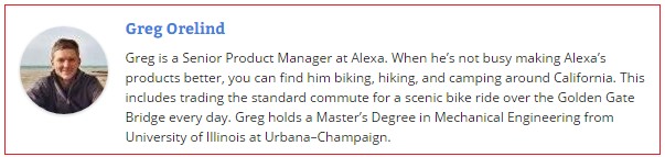 Ini dia Greg Orelind, Senior Product Manager di Alexa