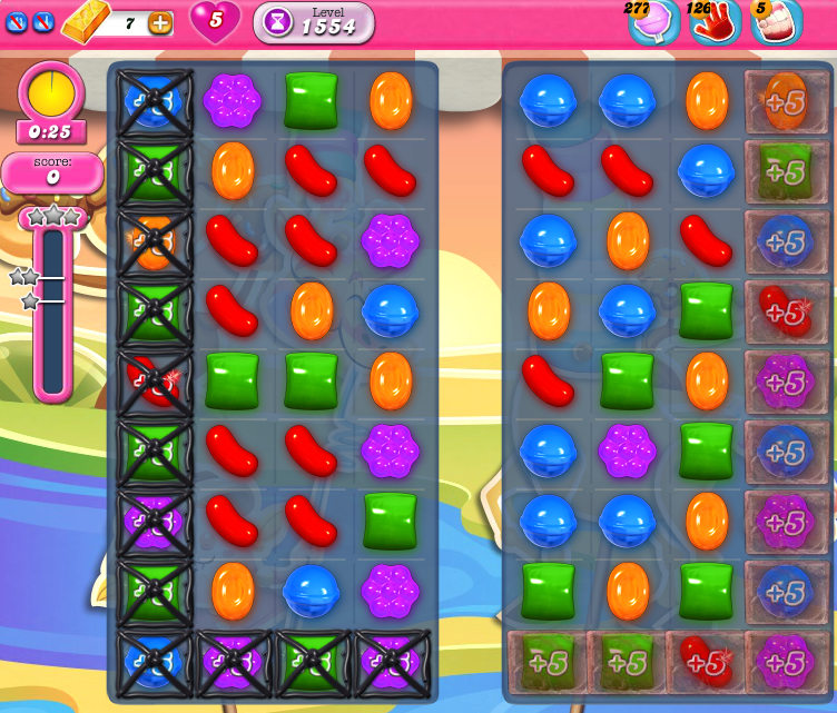 Candy Crush Saga 1554