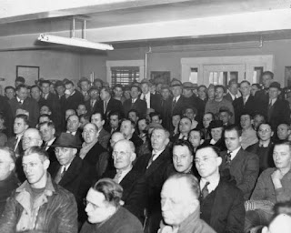 United Electrical Workers, Local 506 Membership Meeting. (1946)