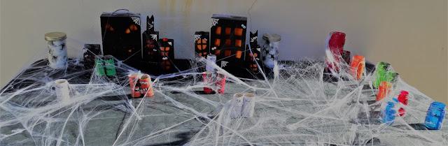 village décration halloween à faire avec enfants tutoriel facile décoration