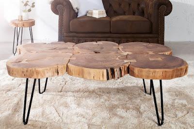 Konferenčný stolík z masívu.