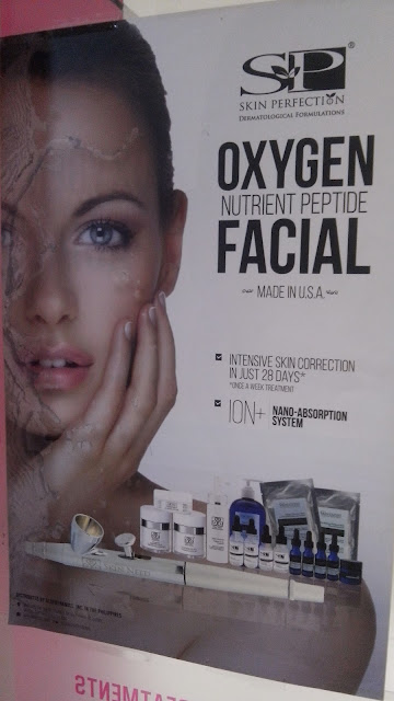 skin perfection oxygen nutrient peptide facial