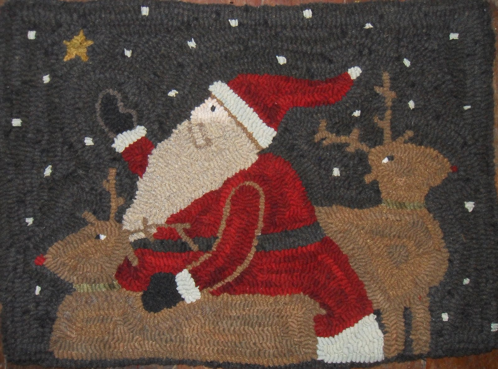 Santa Rug Home Decor