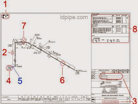 Gambar Isometri Pipa Piping Isometric Drawing  Himpunan
