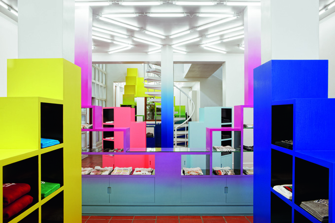 In Design Magz: FASHION BOUTIQUE DESIGN IDEAS WITH COLORFUL ...