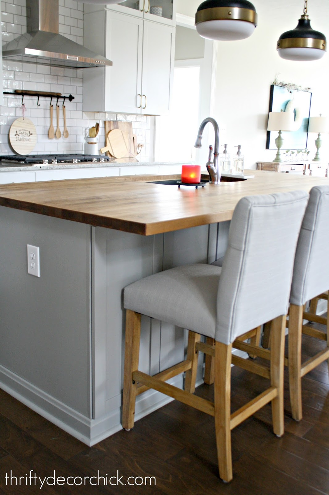 How To Stain And Treat Wood Countertops