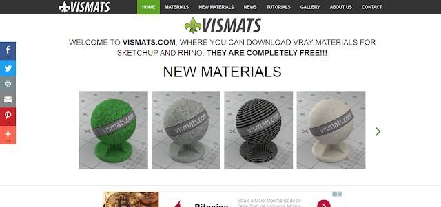 Como encontrar materiais para Vray for SketchUp de alta qualidade