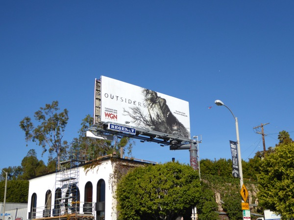 Outsiders TV series billboard