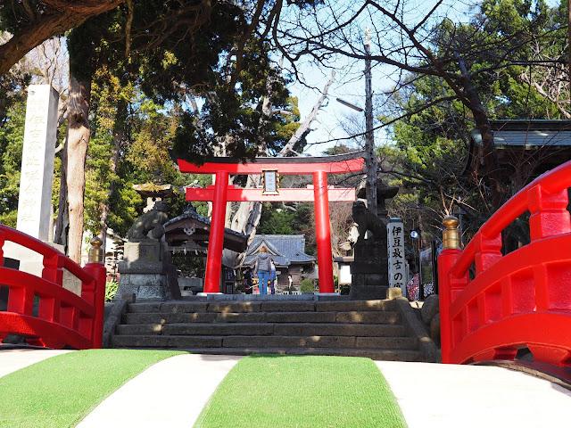 国道135号 下田 白浜神社