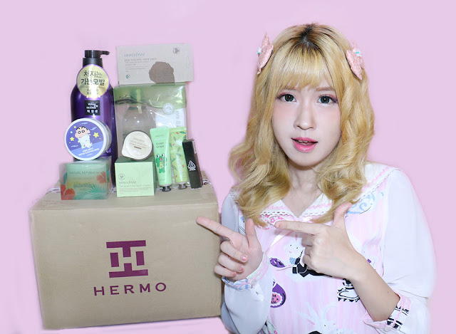 Unboxing Hermo Box Indonesia